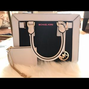 Michael Kors Purse and Chain Wallet